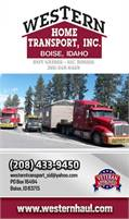 Western Home Transport Inc