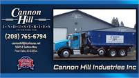 Cannon Hill Industries Inc