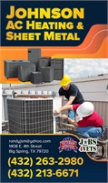 Johnson AC Heating & Sheet Metal