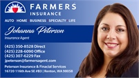Farmers Insurance - Johanna Peterson