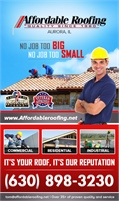 Affordable Roofing Inc