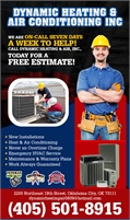 Dynamic Heating & Air Conditioning Inc