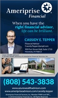 Cassidy E Tepper - Ameriprise Financial Services